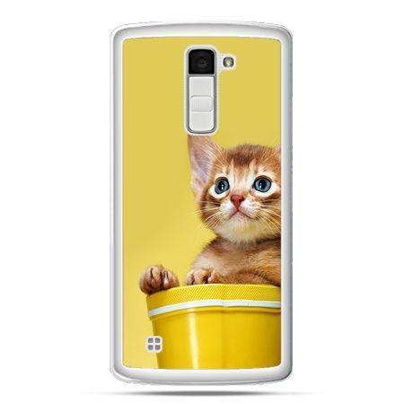 Etui na telefon LG K10 kot w doniczce