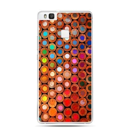 Etui na Huawei P9 Lite kolorowe kredki.