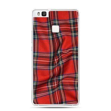 Etui na Huawei P9 Lite pomięta Szkocka krata.