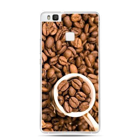 Etui na Huawei P9 Lite kubek z kawą.