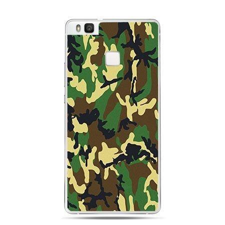 Etui na Huawei P9 Lite wojskowe moro zielone.