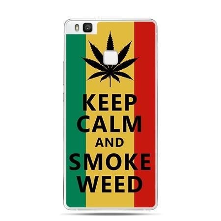 Etui na Huawei P9 Lite Keep Calm and Smoke Weed.