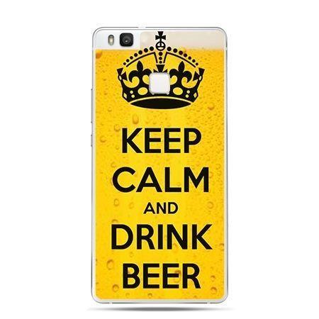 Etui na Huawei P9 Lite Keep Calm and Drink Beer.