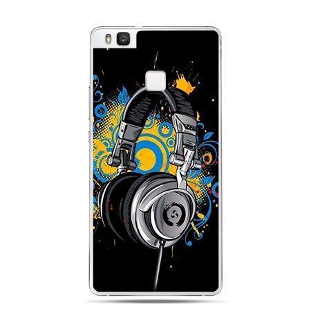 Etui na Huawei P9 Lite słuchawki DJ.