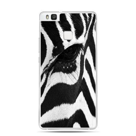Etui na Huawei P9 Lite głowa zebry.