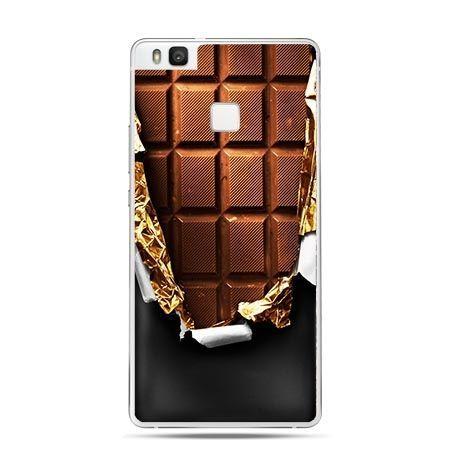 Etui na Huawei P9 Lite tabliczka czekolady.