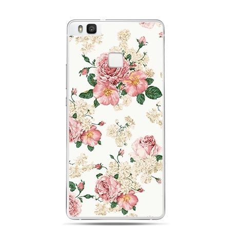 Etui na Huawei P9 Lite polne kwiaty.