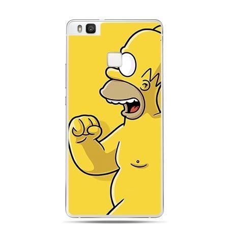 Etui na Huawei P9 Lite Homer Simpson .