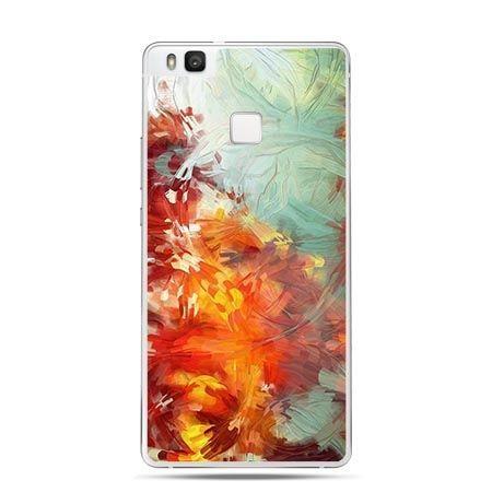 Etui na Huawei P9 Lite kolorowy obraz.