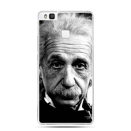 Etui na Huawei P9 Lite Albert Einstein portret.