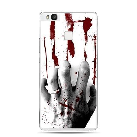 Etui na Huawei P9 Lite ręka zombie.