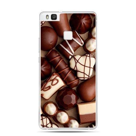 Etui na Huawei P9 Lite czekoladki.