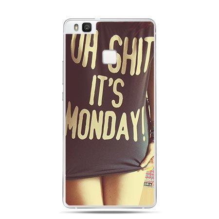 Etui na Huawei P9 Lite Oh Shit it`s Monday!
