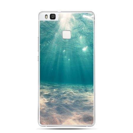 Etui na Huawei P9 Lite pod wodą.