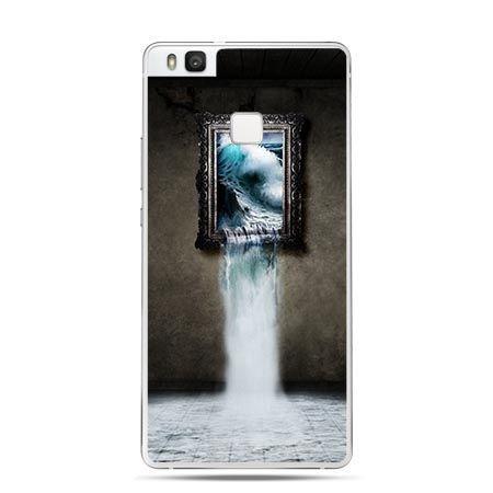 Etui na Huawei P9 Lite obraz z wodospadem.
