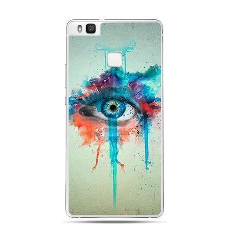 Etui na Huawei P9 Lite kolorowe oko.