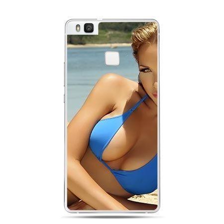 Etui na Huawei P9 Lite kobieta w bikini.