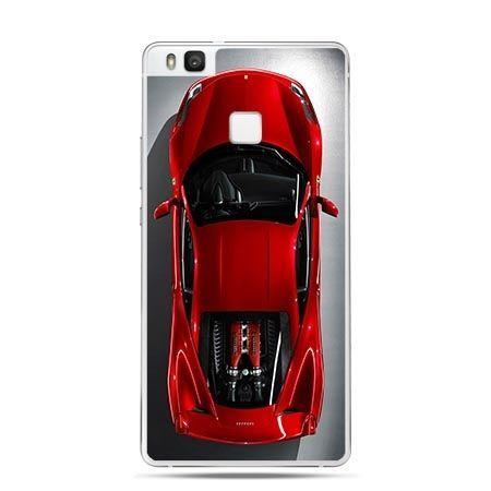 Etui na Huawei P9 Lite samochód czerwone Ferrari.