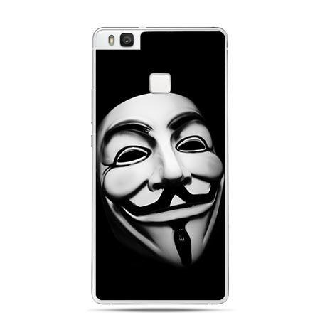 Etui na Huawei P9 Lite maska anonimus.