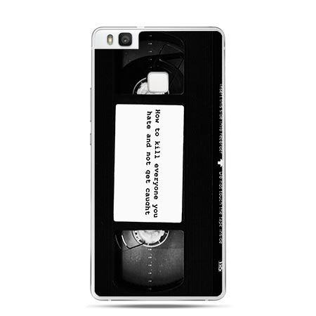 Etui na Huawei P9 Lite kaseta wideo.