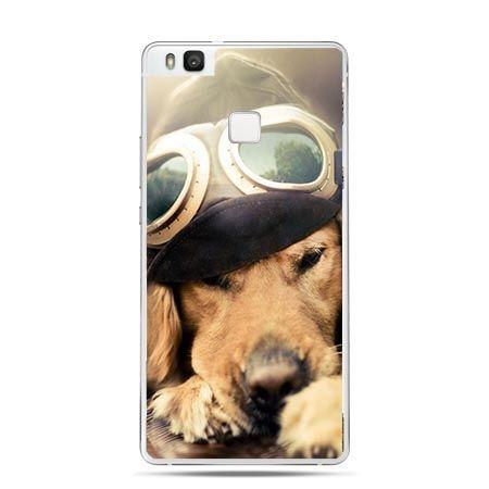 Etui na Huawei P9 Lite słodki szczeniak.