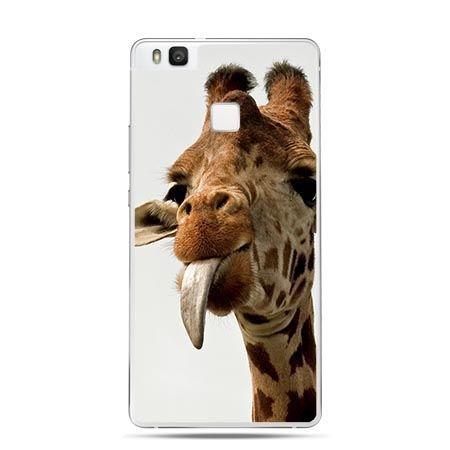 Etui na Huawei P9 Lite żyrafa z językiem.