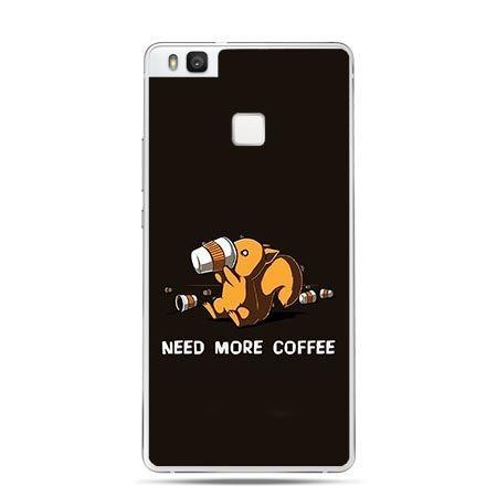 Etui na Huawei P9 Lite Need More Coffee.