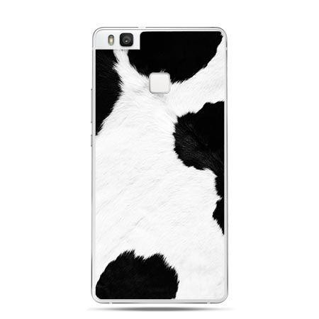 Etui na Huawei P9 Lite łaciata krowa.