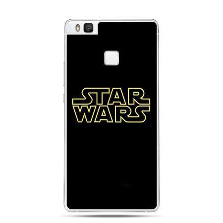 Etui na Huawei P9 Lite napis Star Wars.