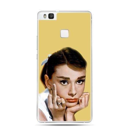 Etui na Huawei P9 Lite Audrey Hepburn fuck you.