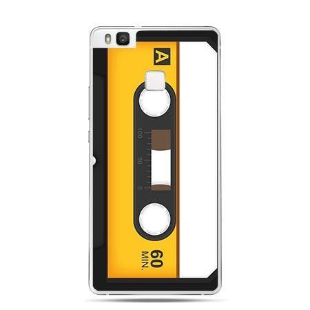 Etui na Huawei P9 Lite kaseta magnetofonowa retro.