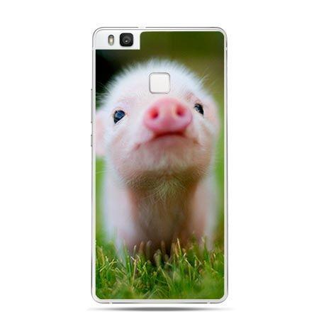 Etui na Huawei P9 Lite zabawna świnka.