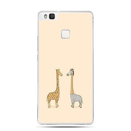 Etui na Huawei P9 Lite dwie żyrafy.
