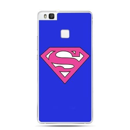 Etui na Huawei P9 Lite Supergirl.