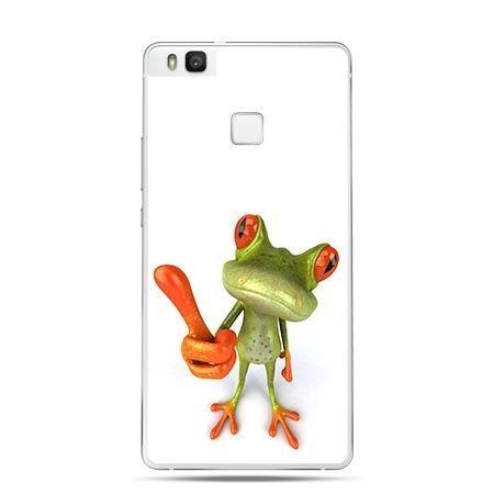 Etui na Huawei P9 Lite wesoła żaba.