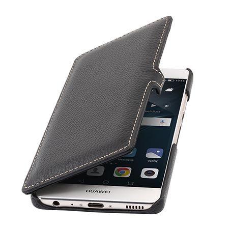 Etui na Huawei P9 Stilgut - skórzane BOOK z klapką czarne.