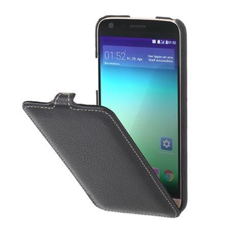Etui na LG G5 Stilgut SlimCase skórzane z klapką czarne.