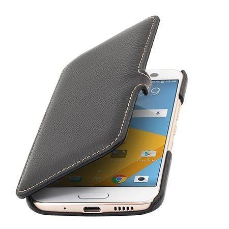 Etui na HTC M10 Stilgut Book skórzane z klapką czarne.