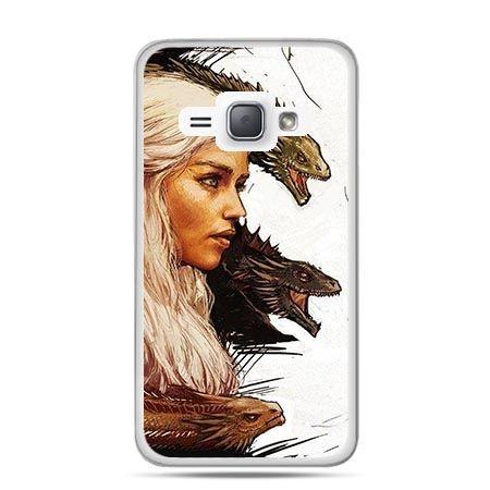 Etui na Galaxy J1 (2016r) Gra o Tron Deanerys Targaryen.