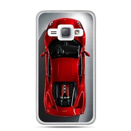Etui na Galaxy J1 (2016r) Czerwone Ferrari.