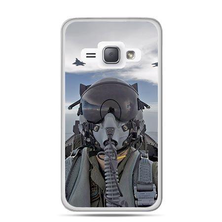 Etui na Galaxy J1 (2016r) Pilot Myśliwca.