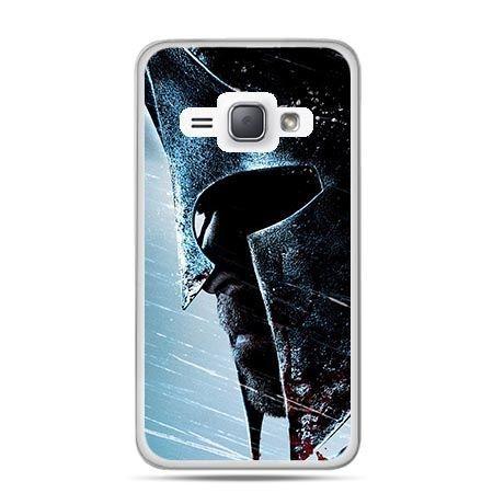 Etui na Galaxy J1 (2016r) Hełm Spartan.