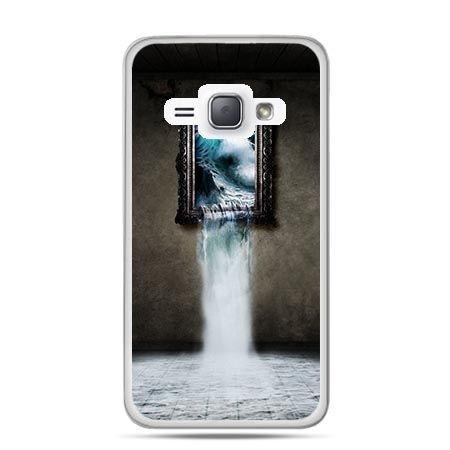 Etui na Galaxy J1 (2016r) Obraz Wodospad.