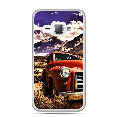 Etui na Galaxy J1 (2016r) Retro Pick-Up.