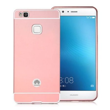 Huawei P9 lite etui aluminium bumper case różowy.