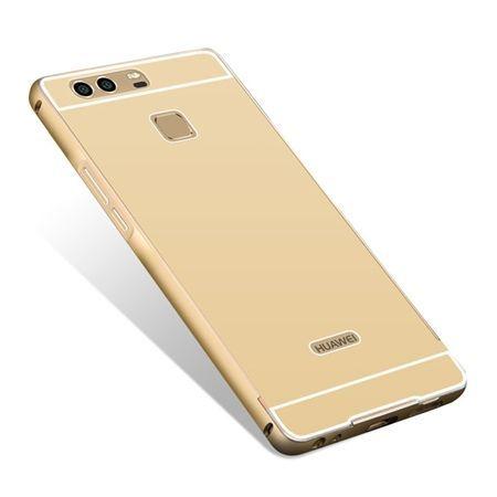 Huawei P9 etui aluminium bumper case złoty.