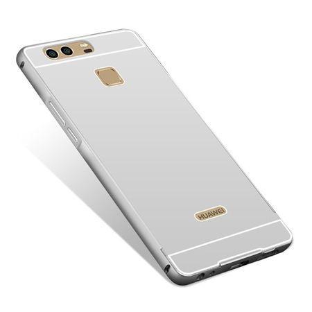 Huawei P9 etui aluminium bumper case srebrny.