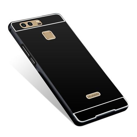 Huawei P9 etui aluminium bumper case czarny.