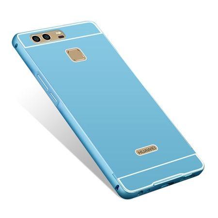 Huawei P9 etui aluminium bumper case niebieski.