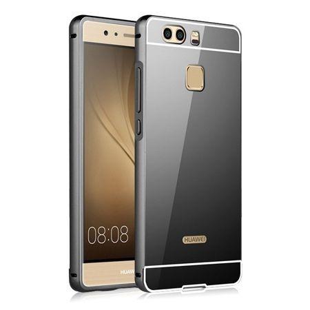 Mirror bumper case na Huawei P9 - Czarny